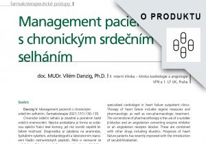 e-reprint, Management pacientů s CHSS, doc. Danzig