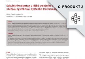 E-reprint - MUDr. Tomáš Janota, CSc., Sakubitril/valsartan v léčbě srdečního selhání s těžkou systolickou dysfunkcí levé komory, Remedia, číslo 2/2021 - Elektronický materiál