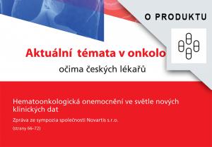Reprint - Hematoonkologická onemocnění ve světle nových klinických dat